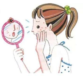 女性脸部长斑的几点原因